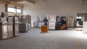 Enterprise logistics wózek widłowy