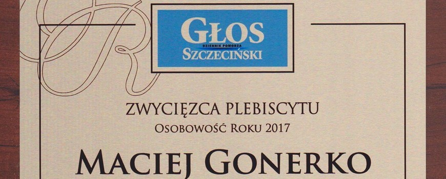 Personality of the Year 2017 of the Głos Szczeciński newspaper