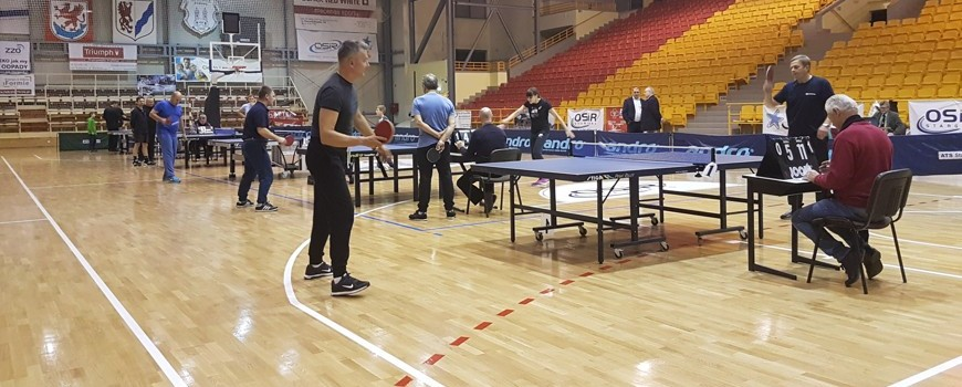 Turniej Tenisa Stołowego o Puchar Prezesa Stargardzkiej Izby Gospodarczej