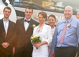 Ślub Moniki Mustakov