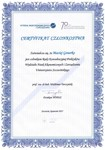 Certificate - Consulting Council of the Practitioners