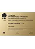 Certificate of the Business Credibility
