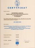 Certyfikat ISO - żywność