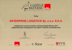 2017 Business Gazelles