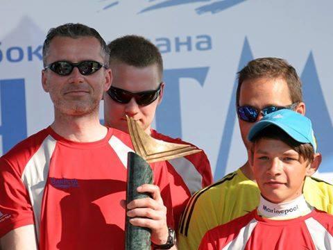 Team BAKISTA zwycięzcą regat Hetman Cup 2016 w Kijowie